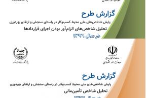 تدوین شاخصهای ملی محیط کسب و کار کشور برای نخستین بار توسط وزارت امور اقتصادی و دارایی